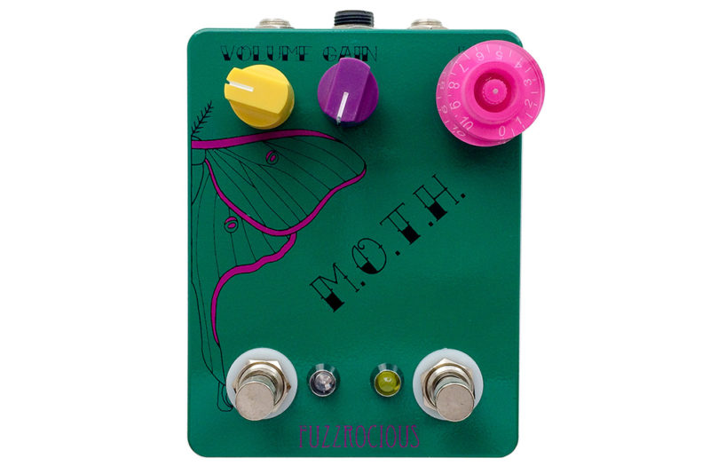 Fuzzrocious Pedals M.O.T.H.