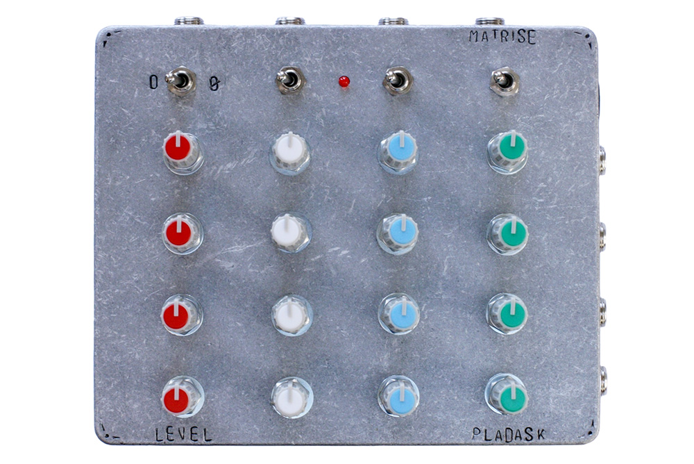 Pladask Elektrisk MATRISE - Matrix Mixer