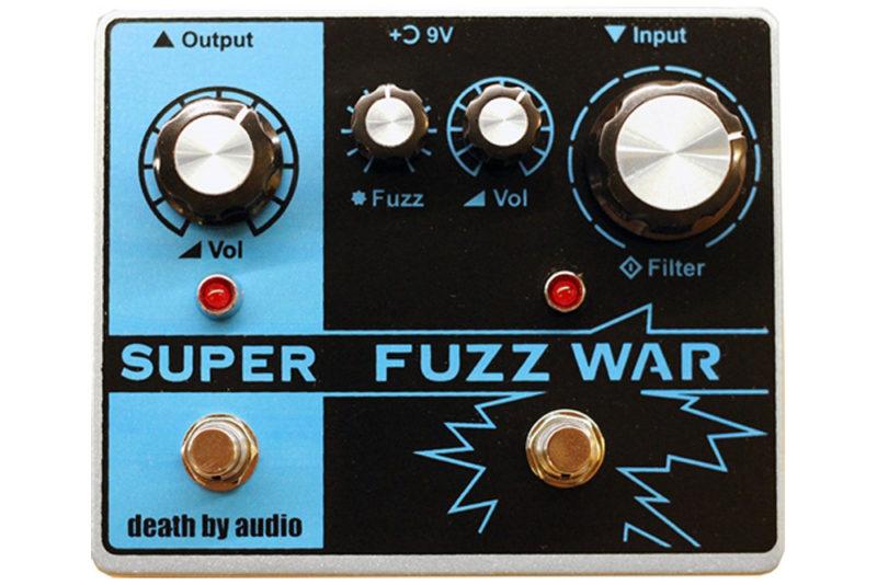 Death By Audio Super Fuzz War