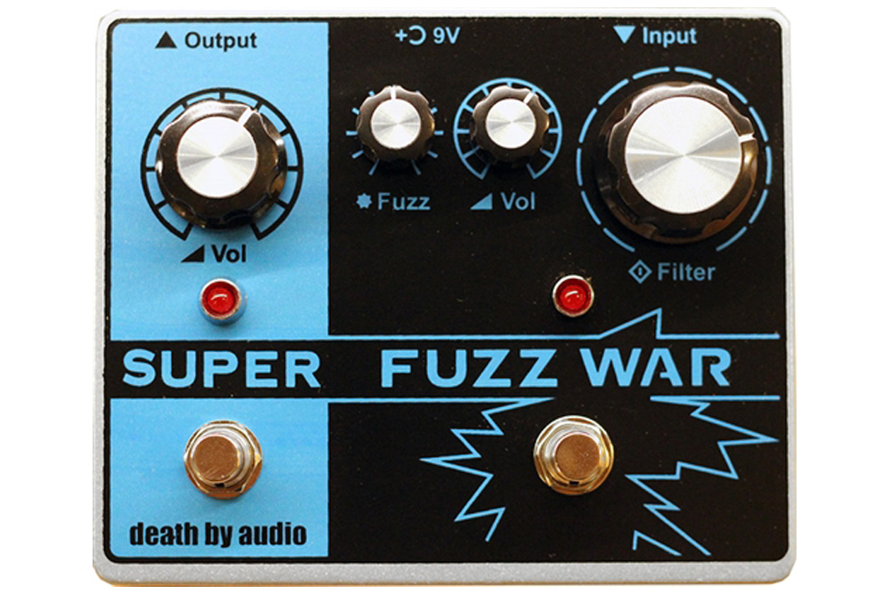 Death By Audio Super Fuzz War