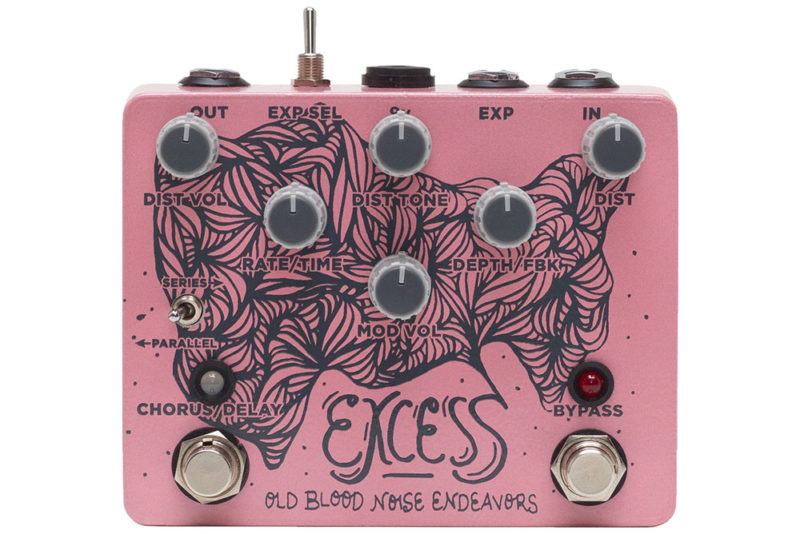 Old Blood Noise Endeavors Excess Distortion Chorus/Delay.